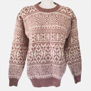 Springfield Vintage Sheep Wool Crew Neck Sweater
